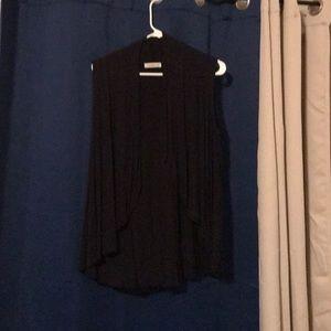 Jackets & Blazers - Black cotton vest